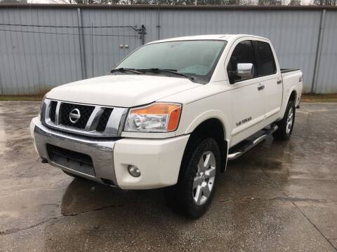 2010 Nissan Titan for sale at Elite Motor Brokers in Austell GA