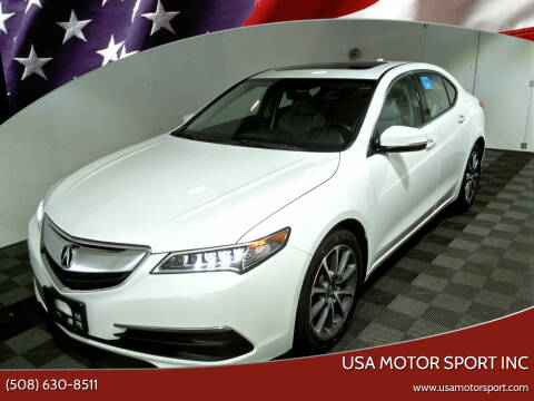 2015 Acura TLX for sale at USA Motor Sport inc in Marlborough MA
