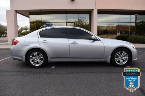 2013 Infiniti G37 Sedan for sale at GOLDIES MOTORS in Phoenix AZ