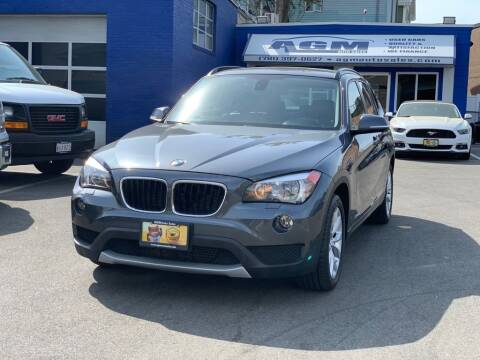2014 BMW X1 for sale at AGM AUTO SALES in Malden MA