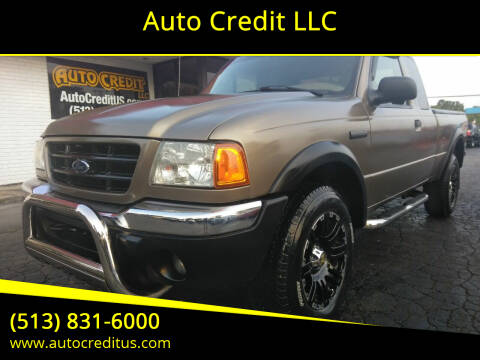 2003 Ford Ranger for sale at Auto Credit LLC in Milford OH