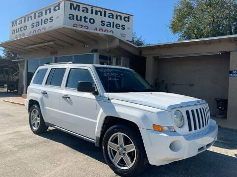 2008 Jeep Patriot for sale at Mainland Auto Sales Inc in Daytona Beach FL