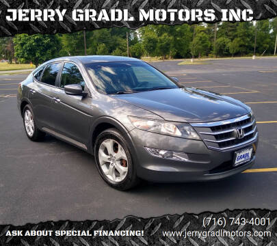 2012 Honda Crosstour for sale at JERRY GRADL MOTORS INC in North Tonawanda NY