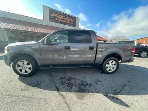 2004 Ford F-150 for sale at Ridley Auto Sales, Inc. in White Pine TN