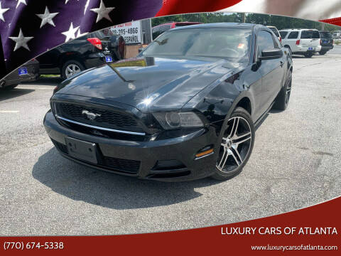 2013 Ford Mustang for sale at Luxury Cars of Atlanta in Snellville GA
