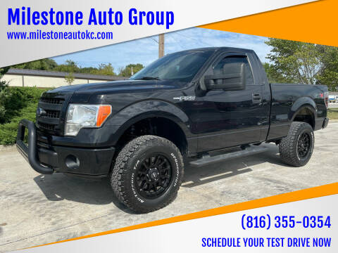2013 Ford F-150 for sale at Milestone Auto Group in Grain Valley MO