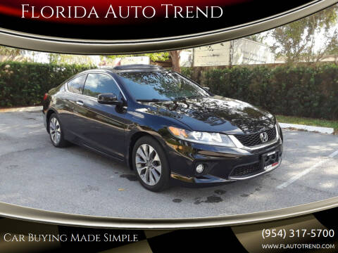 2014 Honda Accord for sale at Florida Auto Trend in Plantation FL