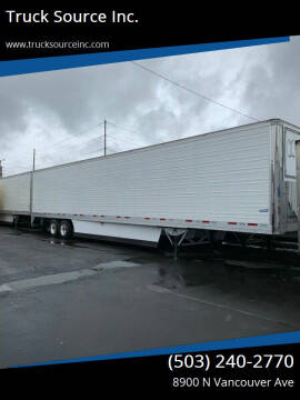 2020 VANGUARD COOL GLOBE CARRIER 7300 for sale at Truck Source Inc. in Portland OR