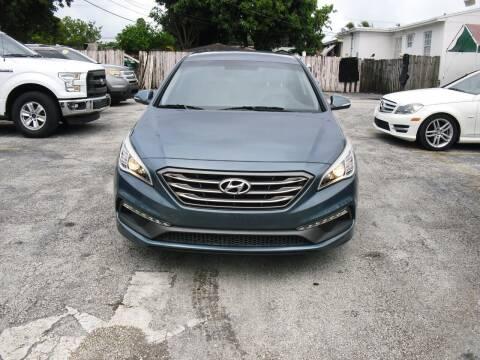 2016 Hyundai Sonata for sale at SUPERAUTO AUTO SALES INC in Hialeah FL