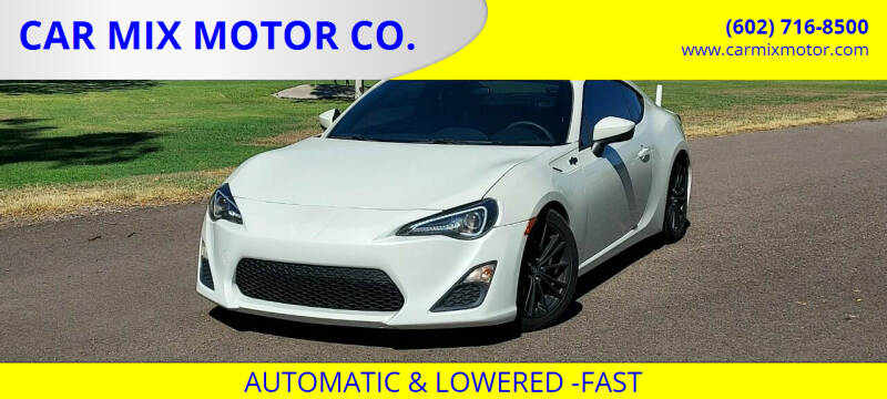 2013 Scion FR-S for sale at CAR MIX MOTOR CO. in Phoenix AZ