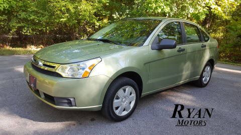 2008 Ford Focus for sale at Ryan Motors LLC in Warsaw IN