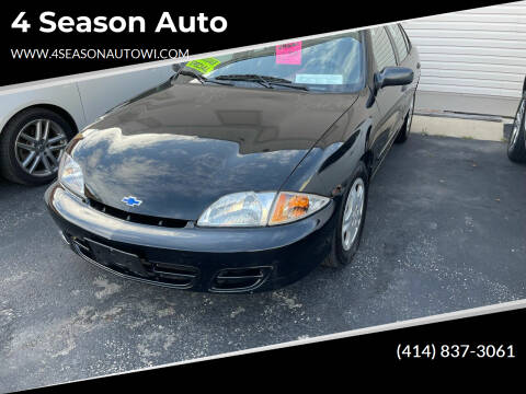2002 Chevrolet Cavalier for sale at 4 Season Auto in Milwaukee WI