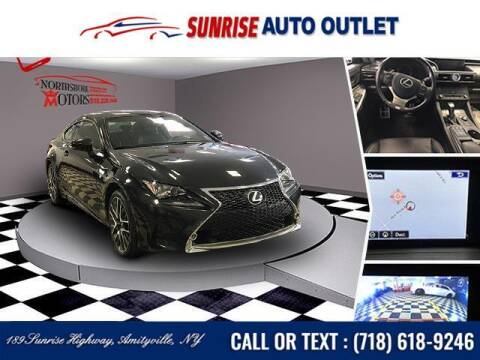 2017 Lexus RC 300 for sale at Sunrise Auto Outlet in Amityville NY