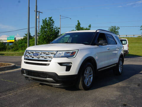 2019 Ford Explorer for sale at FOWLERVILLE FORD in Fowlerville MI