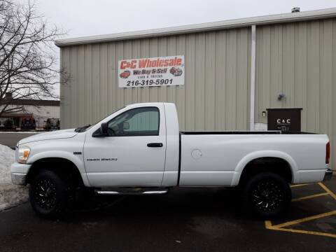 2006 Dodge Ram Pickup 2500 for sale at C & C Wholesale in Cleveland OH