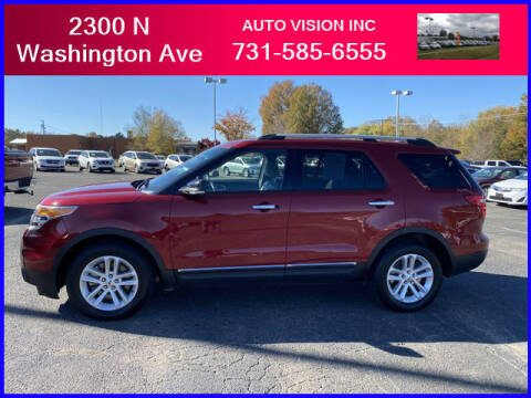 2014 Ford Explorer for sale at Auto Vision Inc. in Brownsville TN