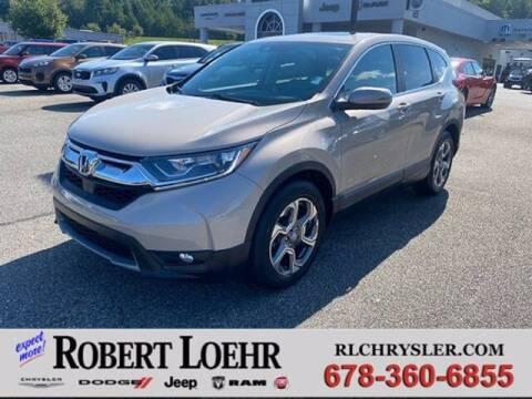 2019 Honda CR-V for sale at Robert Loehr Chrysler Dodge Jeep Ram in Cartersville GA