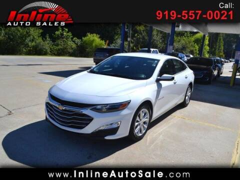 2020 Chevrolet Malibu for sale at Inline Auto Sales in Fuquay Varina NC