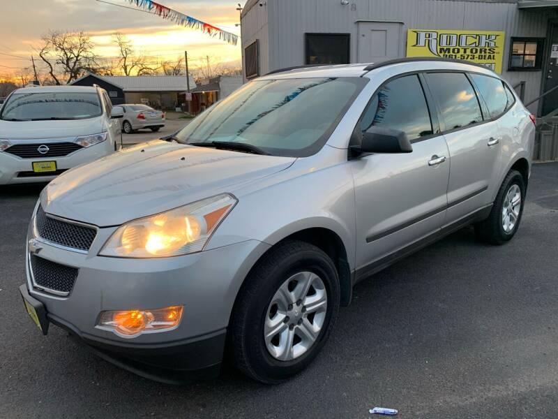 2012 Chevrolet Traverse for sale at Rock Motors LLC in Victoria TX