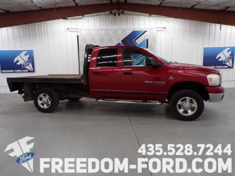 2006 Dodge Ram Pickup 2500 for sale at Freedom Ford Inc in Gunnison UT