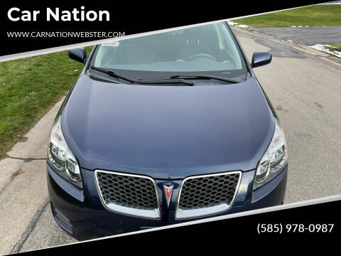2009 Pontiac Vibe for sale at Car Nation in Webster NY