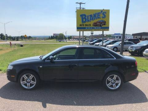 2006 Audi A4 for sale at Blake's Auto Sales in Rice Lake WI