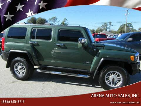 2006 HUMMER H3 for sale at ARENA AUTO SALES,  INC. in Holly Hill FL
