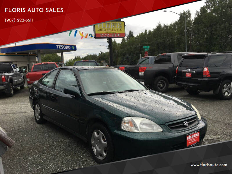1999 Honda Civic for sale at FLORIS AUTO SALES in Anchorage AK