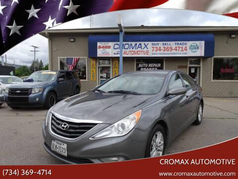 2013 Hyundai Sonata for sale at Cromax Automotive in Ann Arbor MI