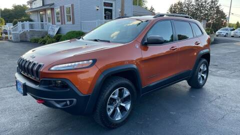 2015 Jeep Cherokee for sale at RBT Automotive LLC in Perry OH