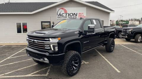 2021 Chevrolet Silverado 2500HD for sale at Action Motor Sales in Gaylord MI