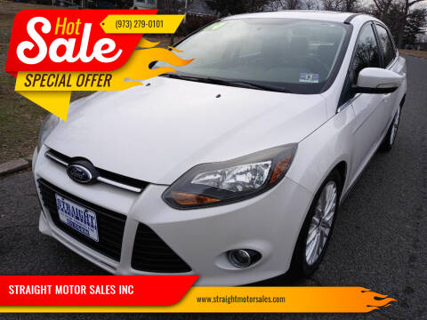 2014 Ford Focus for sale at STRAIGHT MOTOR SALES INC in Paterson NJ