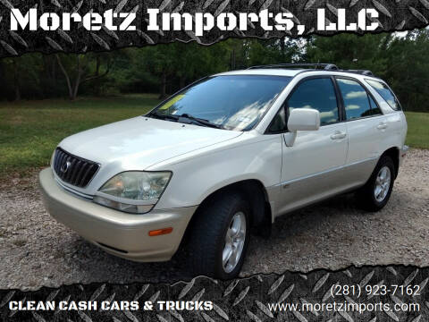 2001 Lexus RX 300 for sale at Moretz Imports, LLC in Spring TX