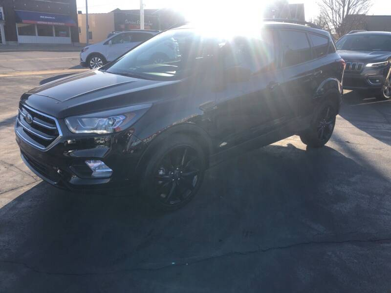 2019 Ford Escape for sale at N & J Auto Sales in Warsaw IN