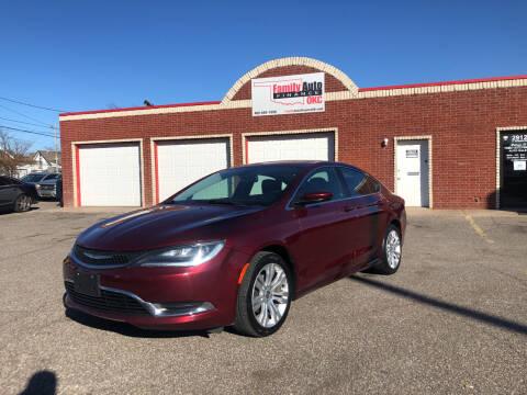 2015 Chrysler 200 for sale at Family Auto Finance OKC LLC in Oklahoma City OK