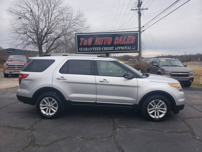 2014 Ford Explorer for sale at T & G Auto Sales in Florence AL