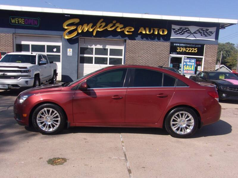 2012 Chevrolet Cruze for sale at Empire Auto Sales in Sioux Falls SD