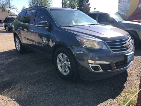 2013 Chevrolet Traverse for sale at Martinez Cars, Inc. in Lakewood CO