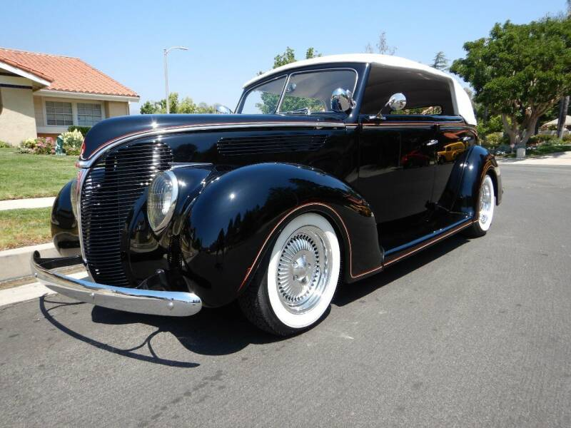 1938 Ford Cabriolet  for sale at California Cadillac & Collectibles in Los Angeles CA