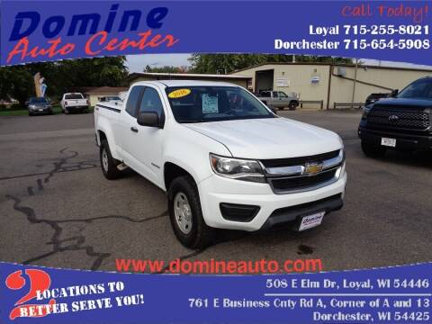 2016 Chevrolet Colorado for sale at Domine Auto Center - commercial vehicles in Loyal WI