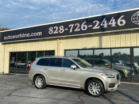 2017 Volvo XC90 for sale at AutoWorld of Lenoir in Lenoir NC