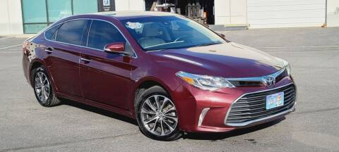 2017 Toyota Avalon for sale at BOOST MOTORS LLC in Sterling VA