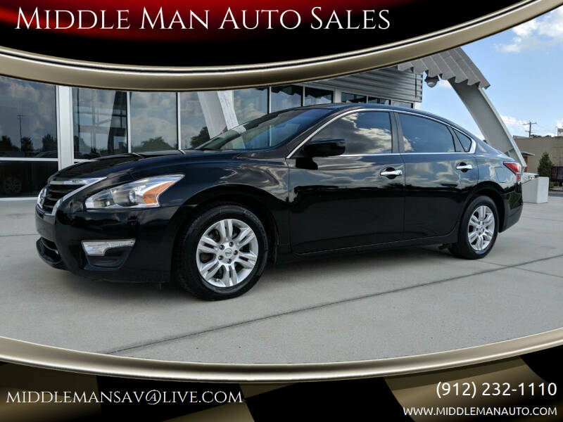2014 Nissan Altima for sale at Middle Man Auto Sales in Savannah GA