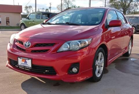 2012 Toyota Corolla for sale at EURO MOTORS AUTO DEALER INC in Champaign IL