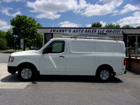 2019 Nissan NV Cargo for sale at Swanny's Auto Sales in Newton NC