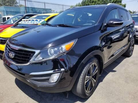 2016 Kia Sportage for sale at Ournextcar/Ramirez Auto Sales in Downey CA
