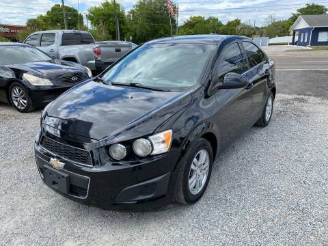 2015 Chevrolet Sonic for sale at Velocity Autos in Winter Park FL