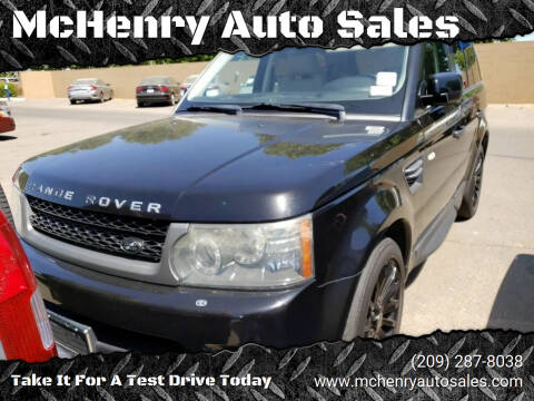 2010 Land Rover Range Rover Sport for sale at MCHENRY AUTO SALES in Modesto CA