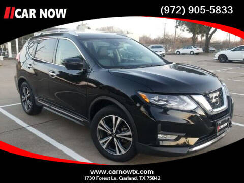 2017 Nissan Rogue for sale at Car Now in Dallas TX