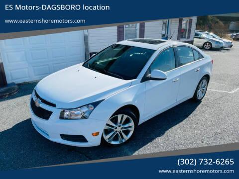 2011 Chevrolet Cruze for sale at ES Motors-DAGSBORO location in Dagsboro DE